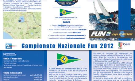 CAMPIONATO NAZIONALE FUN 2012