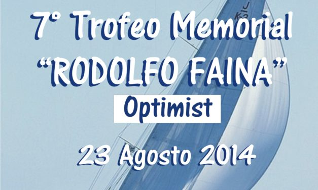 "7° Trofeo memorial ""Rodolfo Faina"" – optimist"