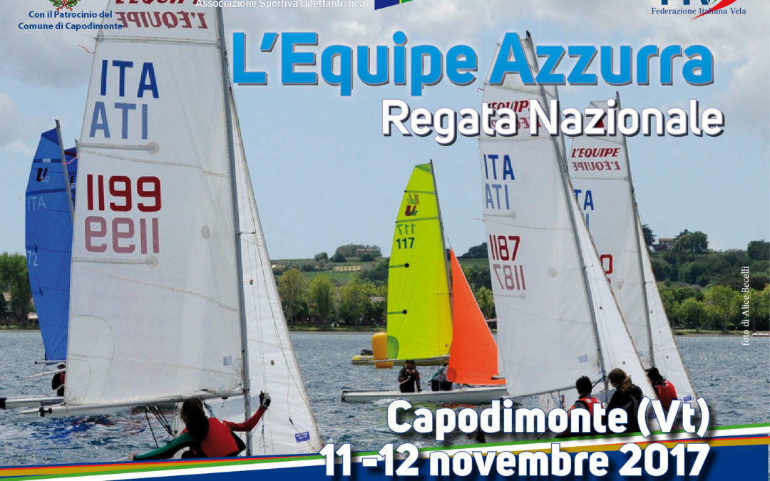 Regata Nazionale L'equipe azzurra – 11-12 novembre 2017