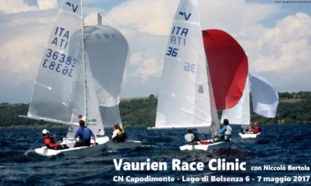 Vaurien Race Clinic 6 e 7 maggio 2017