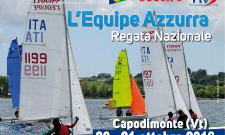 """Regata Nazionale """"L'Equipe Azzurra"""". Capodimonte 20 – 21 ottobre 2018"""