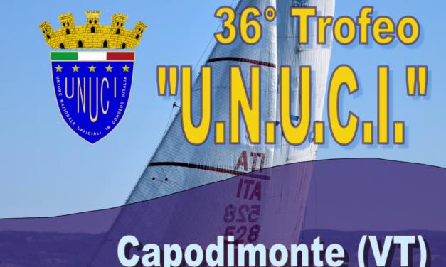 "36° Trofeo ""U.N.U.C.I.""<br>Capodimonte (VT) – 14 luglio 2019"